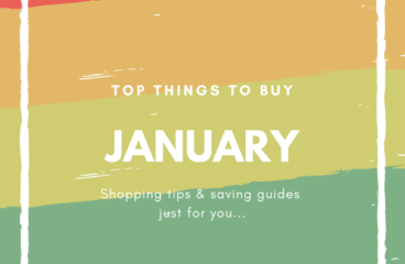 Top Things to Buy in January 2019
